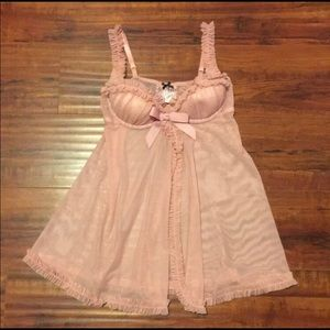 Victoria's Secret Sexy Little Things Pink Negligee